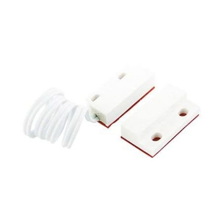 Sensor Magnético de Sobrepor Mini com Fio para Portas e Janelas pacote 10 peças SafePoint/Stylus