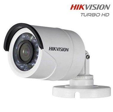 Câmera Bullet HDTVI IR 20m 720p 1MP 3.6mm DS-2CE16C0T-IRP Hikvison