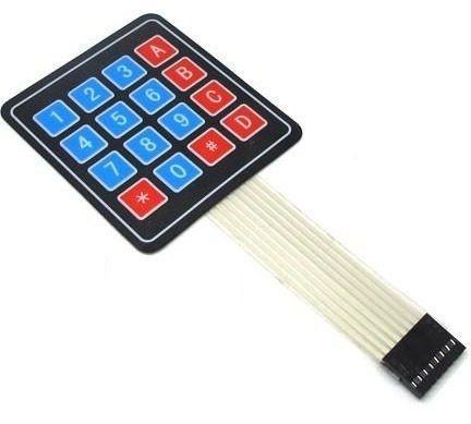 Teclado Matricial De Membrana - 16 Teclas Arduino Pic Arm