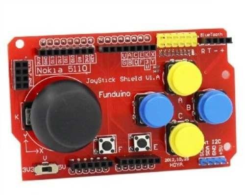 Joystick Shield Arduino Bluetooth Nrf24l01 Nokia I2c