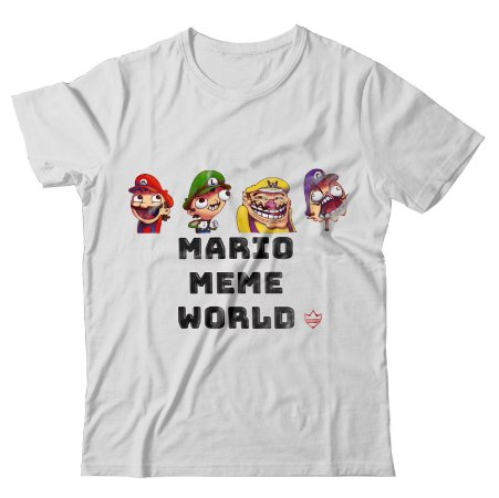 Camiseta Mario Meme World