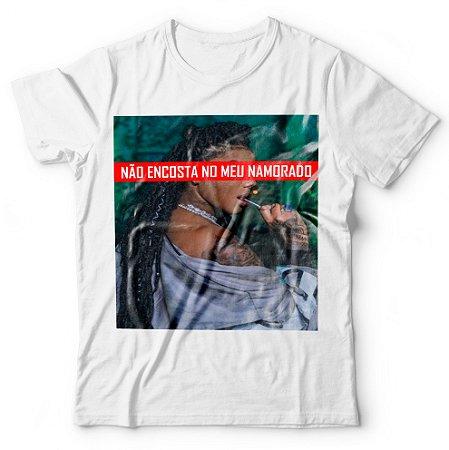 Camiseta Não Encosta No Meu Namorado