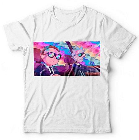 Camiseta Rick and Morty Psicodélico
