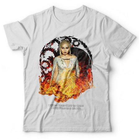 Camiseta Daenerys Fire and Blood