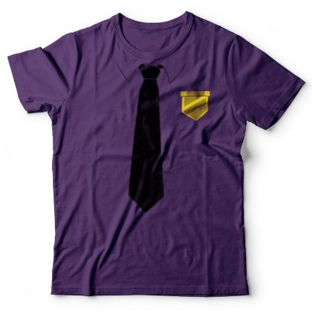Camiseta HUEstation Homem de Roxo - FNAF