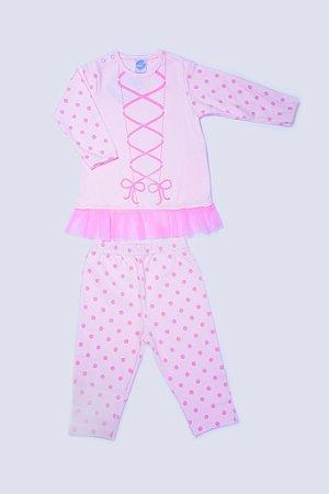 Pijama Manga Longa Bailarina - PIU PIU