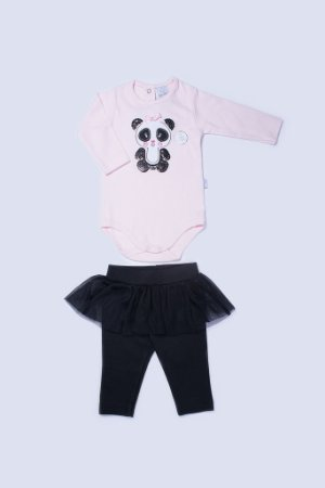 Conjunto Longo Panda Bailarina - PIU PIU