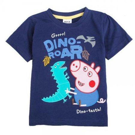 Camiseta Menino George Pig