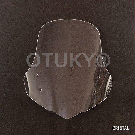 Bolha para NC 700 X - Tamanho Padrão - Lente de Alto Impacto - Cristal