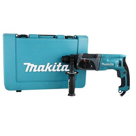 Furadeira Martelete Combinado Makita 800W com Maleta HR2470