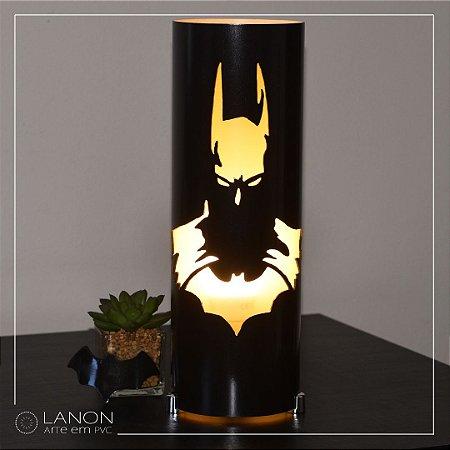 Luminária de mesa decorativa - Batman