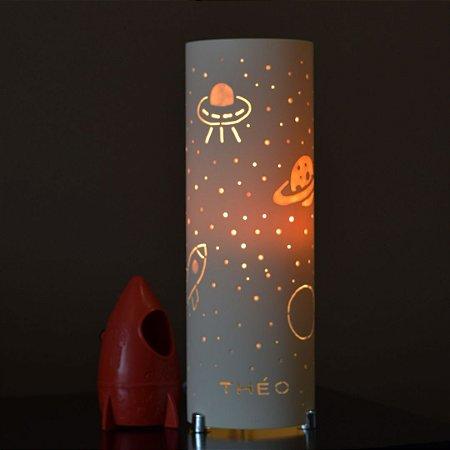 Luminária de mesa decorativa - Universo Galaxia