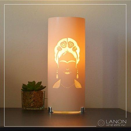 Luminária de mesa decorativa - Frida Kahlo