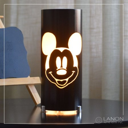 Luminária de mesa decorativa - Mickey Mouse