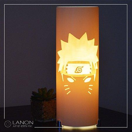 Luminária de mesa decorativa - Naruto