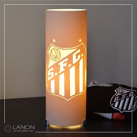 Luminária de mesa decorativa times - Santos