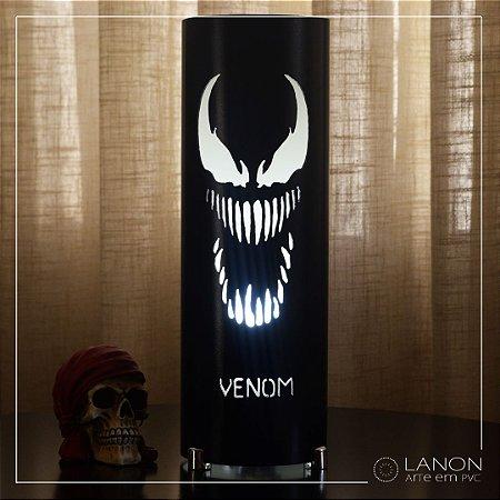 Luminária de mesa decorativa - Venom