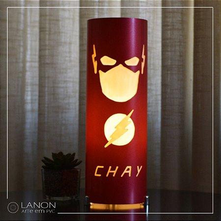Luminária de mesa decorativa - Flash