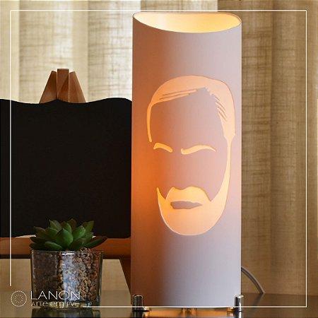 Luminária de mesa decorativa - Sigmund Freud