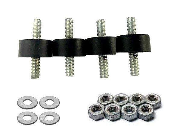 Coxim Vibração Com 4 peças Compressor MSV 6 Schulz - 830.0338-3