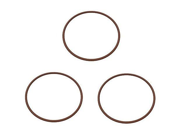 Kit com 3 Peças Anel O-Ring Da Flange De Descarga Srp4015 Schulz - 023.0421-0/AT