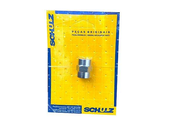 "Luva Com Rosca 1/4"" x 6mm Schulz - 003.0835-0/AT"