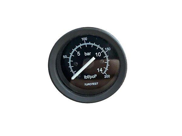 Manômetro Horizontal De Pressão 200p Schulz - 011.0110-0/AT