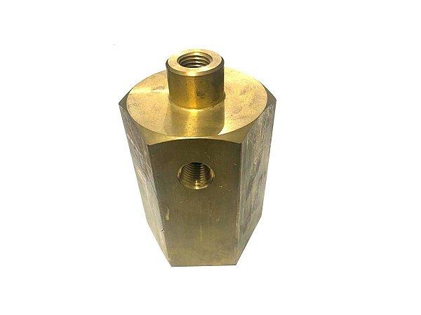 """Válvula Alivio 1/4"""" Normalmente Aberta Compressor Schulz - 813.0561-0/AT"""