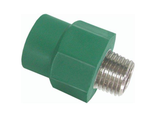 Adaptador Ppr Para Rede De Água Quente e Fria 50 Mm X 1 1/2 Polegada - Topfusion