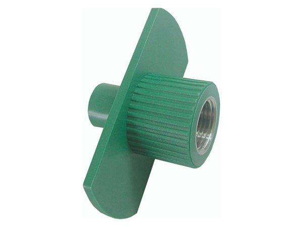 """Adaptador Fixo Dry Ppr Para Rede De Água Quente e Fria 25 Mm X 3/4"""" - Topfusion"""