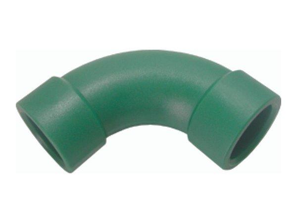 Curva 90 Ppr Para Rede De Água Quente e Fria 20 Mm - Topfusion