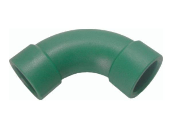 Curva 90 Ppr Para Rede De Água Quente e Fria 25 Mm - Topfusion