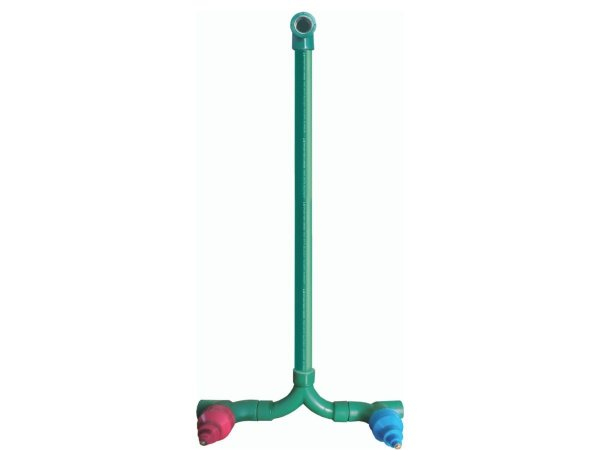 Kit Misturador Com Base 1/4 de Volta Ppr (Docol) Água Quente e Fria 25mm - Topfusion
