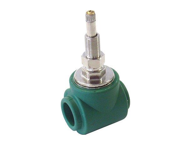 Registro Base Gaveta Ppr (Deca) Para Rede De Água Quente e Fria 25mm Topfusion