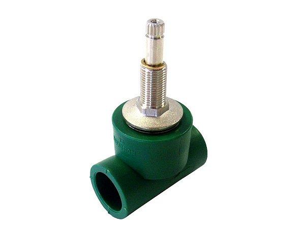 Registro Base Pressão Standard Ppr (Docol) Para Rede De Água Quente e Fria 20mm Topfusion