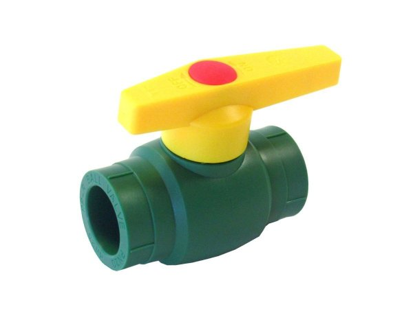 Registro Esfera 25mm em Ppr Para Rede de Água Quente e Fria - Topfusion