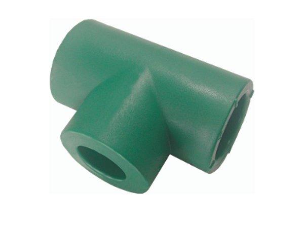 Te Redução Ppr Rede De Água Quente e Fria 25mm X 20mm Topfusion
