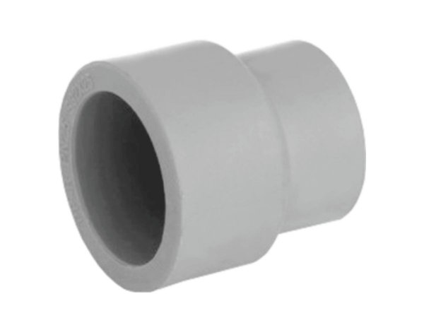 Luva De Redução Ppr Topfusion Para Rede a Vácuo 63 X 40 Mm