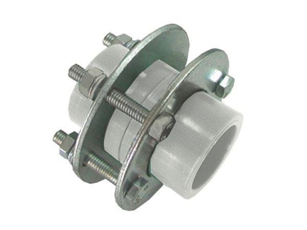 União Com Flange Ppr Rede a Vácuo 50mm - Topfusion