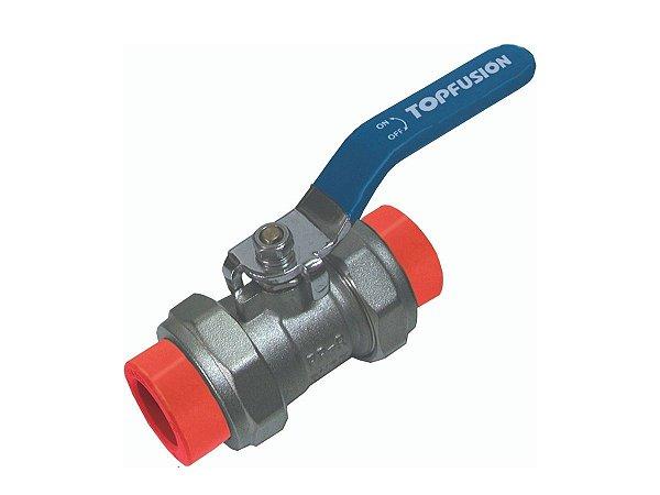 Registro Esfera 110mm Ppr/Metal Rede de Incêndio Topfusion