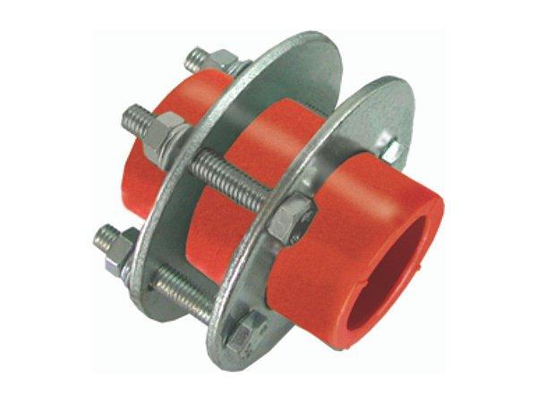 União Com Flange Ppr Rede de Incêndio 90mm - Topfusion