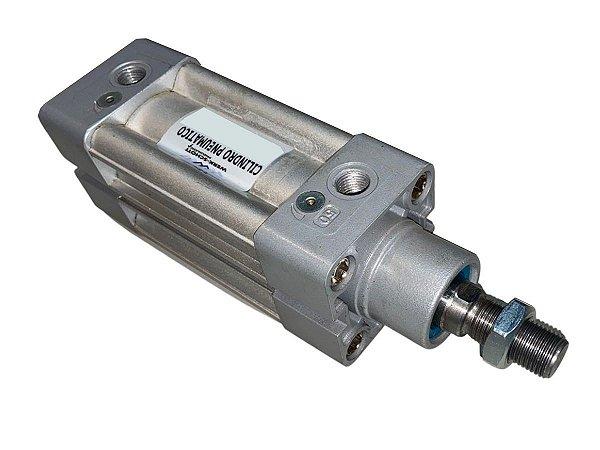 Cilindro Pneumático de Dupla Ação Com Amortecimento Diâmetro 63mm Cursor 100mm – Werk Schott