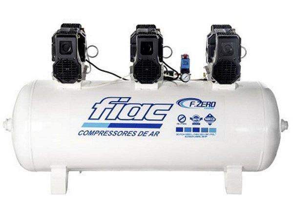 Compressor De Ar Isento De Óleo Odontológico 30 Pés 265 Litros 220v F.ZERO XS 265 - Fiac