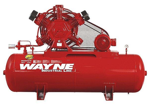 COMPRESSOR DE AR WAYNE - W800 - 40 PES 425 LITROS 175 LIBRAS 220/380V TRIF (MOTOR BLINDADO)
