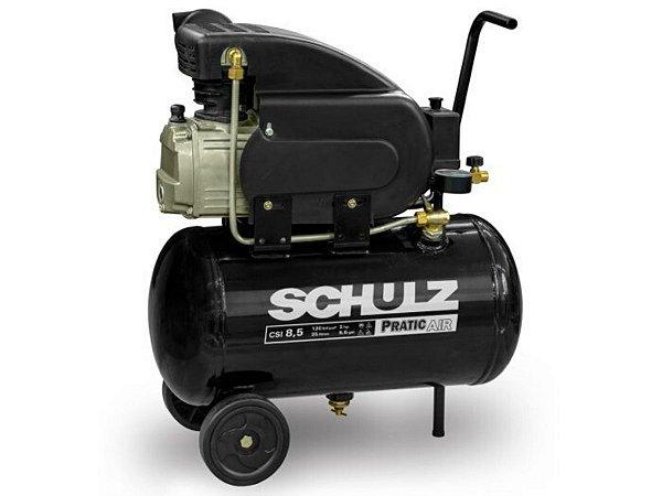 MOTOCOMPRESSOR SCHULZ CSI 8,5/25L - 2 HP - 25 LITROS