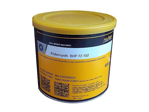Graxa Klüber Klübersynth BHP 72-102 (600g)