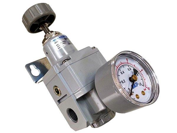 """Regulador de Precisão para Ar Comprimido 1/4"""" - Werk Shott"""
