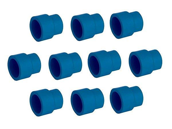 Kit Com 10 Peças-Luva De Redução Ppr Topfusion Para Rede De Ar Comprimido 40X 32Mm