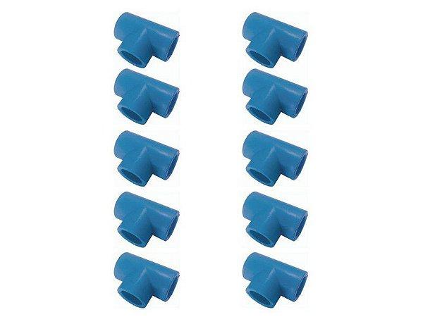 Kit Com 10 Peças-Te Redução Ppr Rede De Ar Comprimido 40mm X 32mm Topfusion