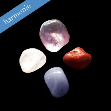 Kit 04 Pedras Naturais - Harmonia